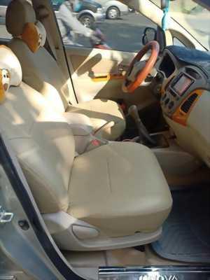 Cần bán xe Innova, số sàn, sản xuất 2009, màu bạc zin cọp.