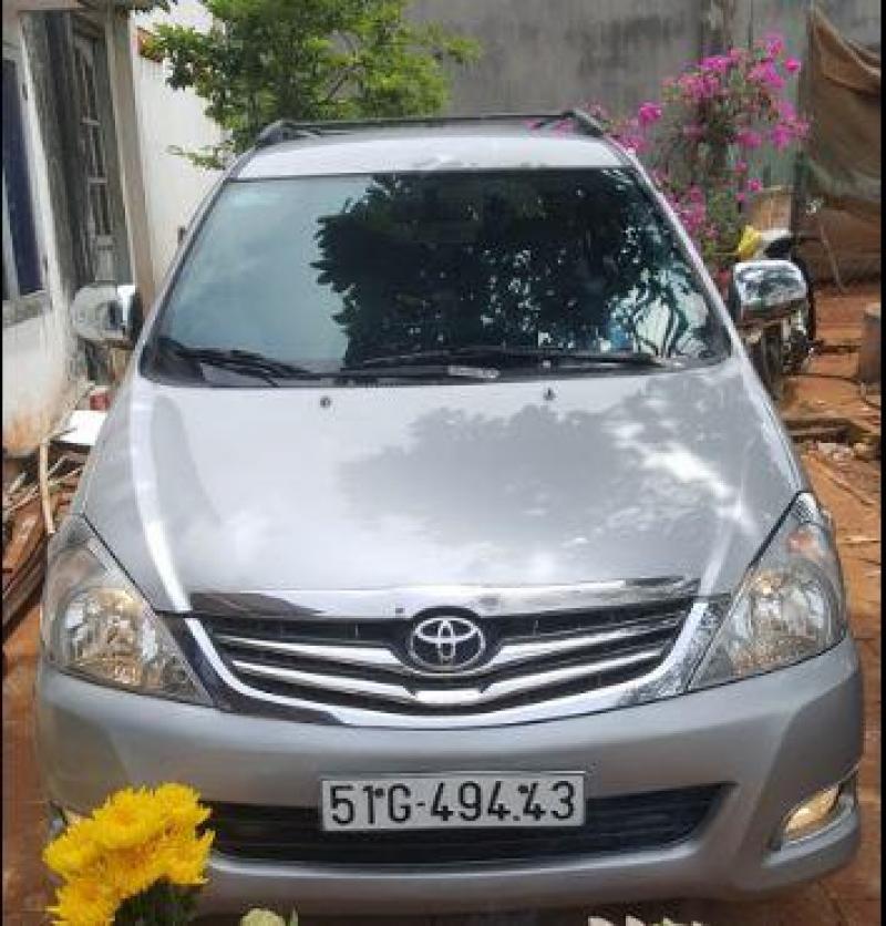 Toyota Innova tự lái hoặc có tài, hợp đồng du lịch