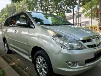 Bán xe Toyota Innova  2007 bản G màu bạc. Xe số sàn