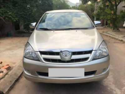 Cần bán Toyota Innova 2008 số sàn, màu Vàng cát.
