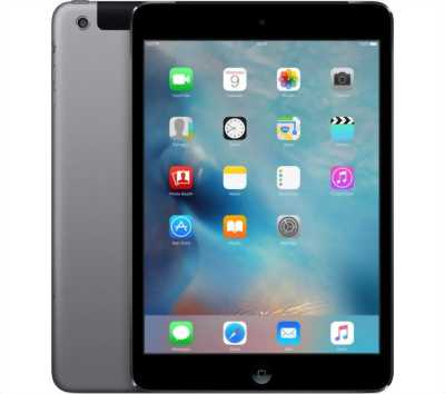Apple Ipad Mini 2 32 GB Xám Wifi + 4G Zin Đẹp 99%