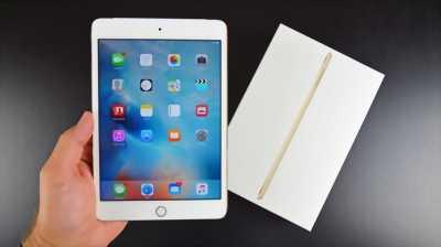 Ipad Mini 4 4G-16GB vàng Gold Quốc tế zin keng