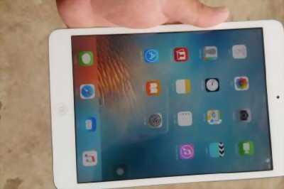 Bán iPad mini 1 16Gb Wifi Trắng mới 99% còn zin nguyên