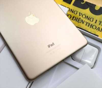 iPad Mini 4 32GB Wifi Gold - Mua TGDĐ, bảo hành 04/2018