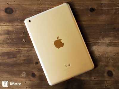 Apple Ipad Mini 3 16 GB trắng Wifi +4G Zin Đẹp 98%