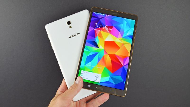 Galaxy Tab S 8.4 wifi 3G zin bị vỡ kính ok hết