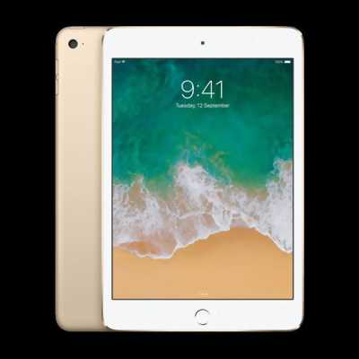 Bán iPad Mini 4 4G Wifi 16GB Gold_Pin dùng 2-4h