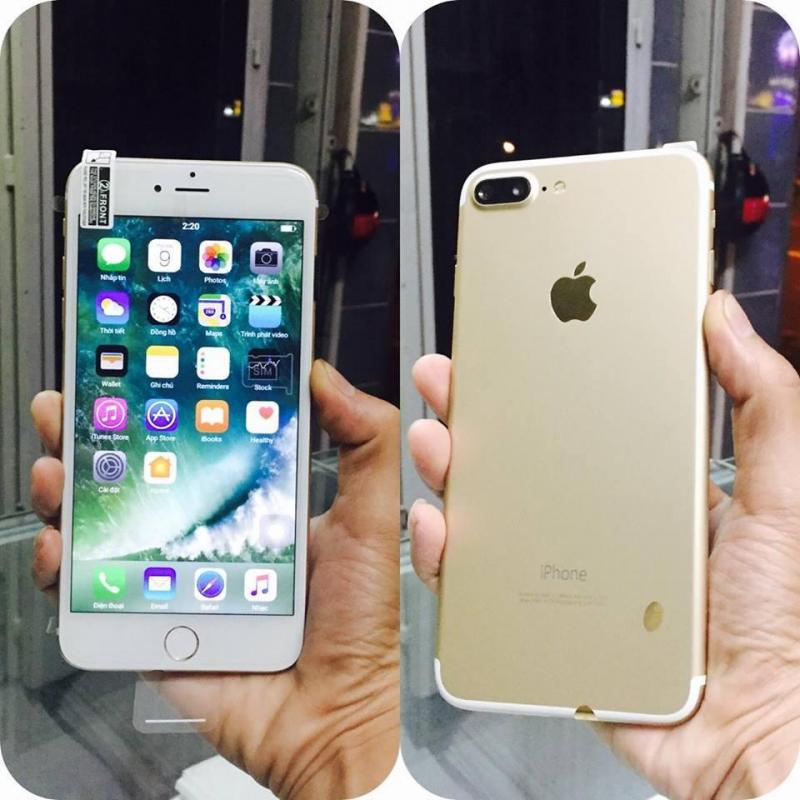 Apple Iphone 7 plus 32 GB đen ( full xanh )