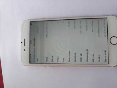 Iphone 6G 16Gb Máy đã qua sử dụng. Máy còn zin bao đẹp. Tay nghe dây sạc còn
