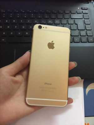 Iphone 6 plus Vàng quốc tế 16gb ngoại hình khá