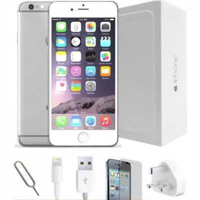 Iphone 6 64gb quốc tế màu sliver vân tay nhạy