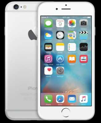 iPhone 6S Bạc lock