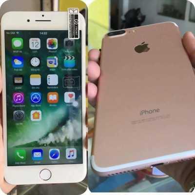 Cần bán iphone 7 plus quốc tế màu vàng hồng ở Hải Dương