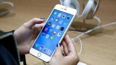 Apple Iphone 6S plus 16GB lên vỏ 8 Plus Gold huyện hòa bình