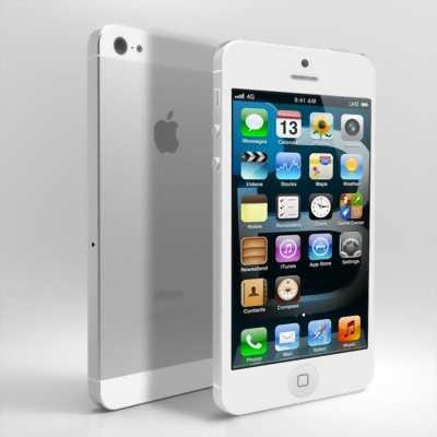 iPhone 5 16 GB Trắng phiên bản quốc tế iCloud ẩn