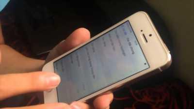 iPhone 5S Vàng gold quốc tế 16g