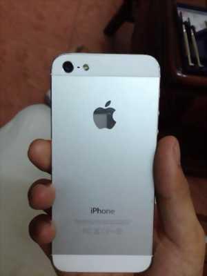 Bán iPhone 5 trắng dùng hơn 1 năm chưa qua sửa chữa