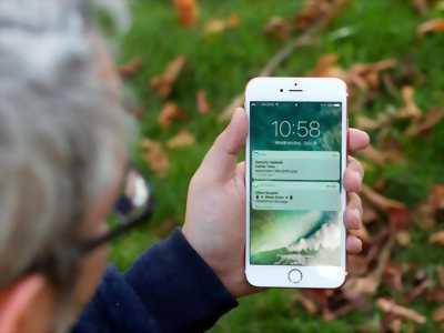 iPhone 7 Plus Vàng Hồng Lock LL/A iOS 10.3.2 Full
