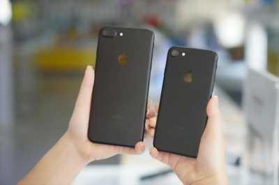 Iphone 7 plus đen sần full hộp quốc tế 32Gb còn Bh