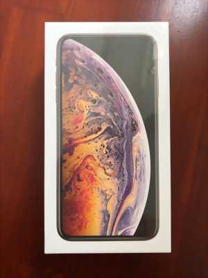 iPhone XS Max 64GB gold chính hãng Việt Nam VN/A nguyên seal hình thật