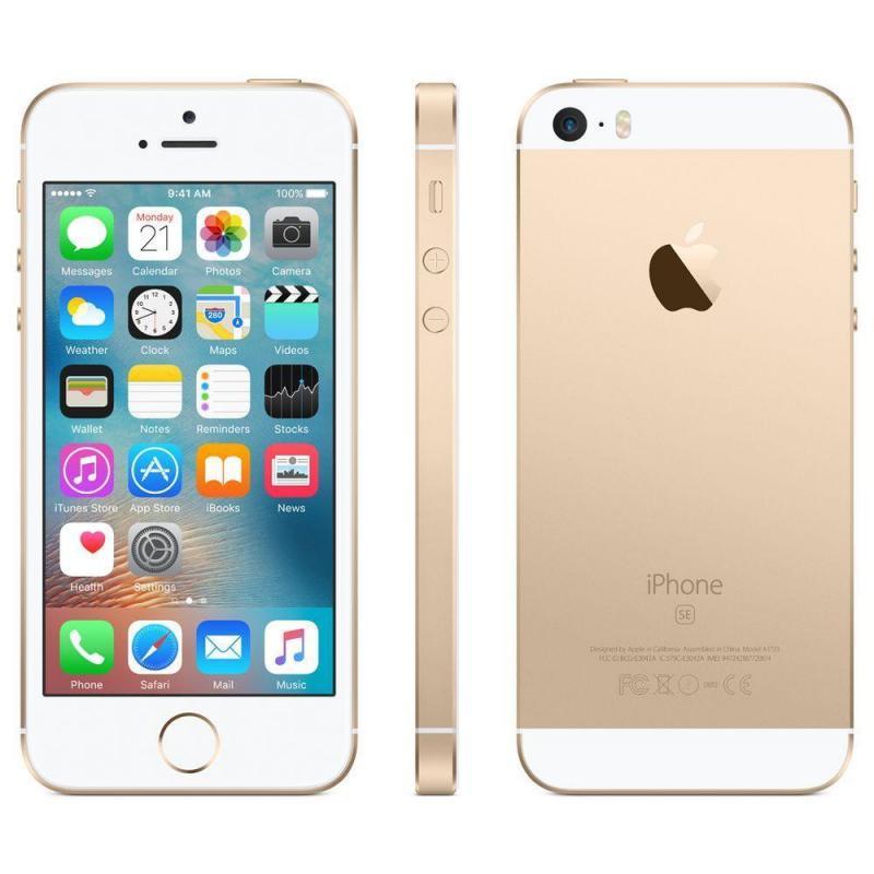 Iphone SE gold 64g nguyên hộp hàng v/n tgdd zin