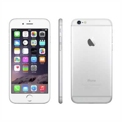 Apple Iphone 6 Bạc 64gb quốc tế ios 10.1 mvt
