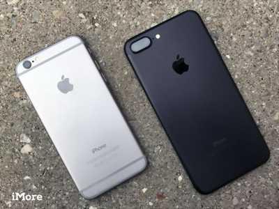 Điện thoại iphone 7 plus quốc tế 32gb đen nhám ở Hà Nội