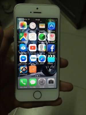 Iphone 5s quốc tế 16gb trắng