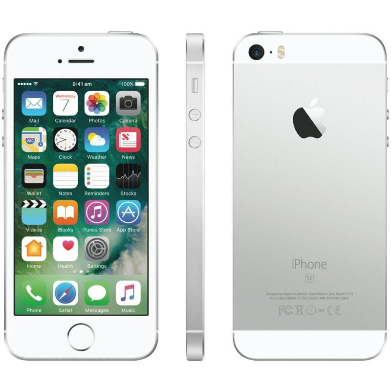 Bán iPhone SE 32GB lock mỹ, sim ghép, màu trắng