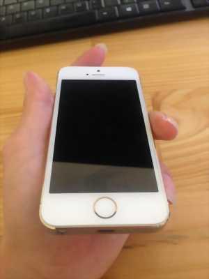 IPhone 5s, gold, bản 16gb .(Mới dùng), 98% bản FPT
