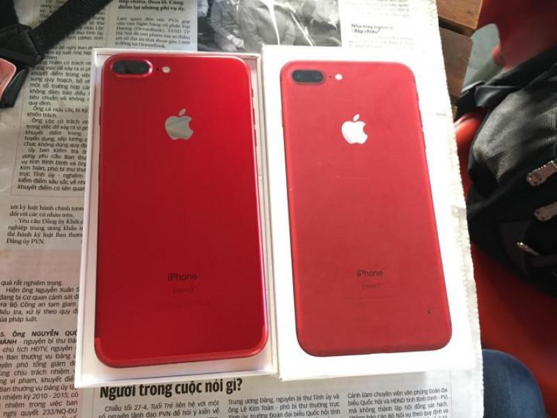 Iphone 7 plus red 138gb