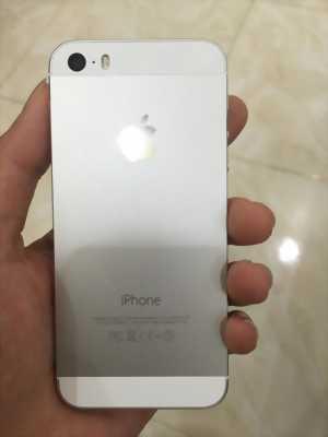 Apple iPhone 5S bạc cần bán