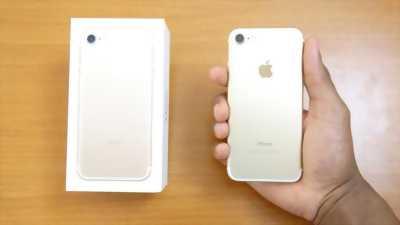 Bán iphone 7 gold fullbox, mới 99%, còn bảo hành 5t,