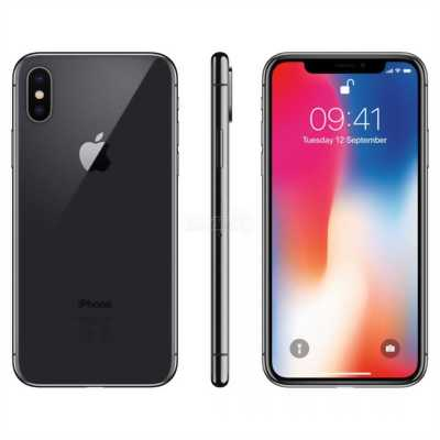 IphoneX 64G đen full box