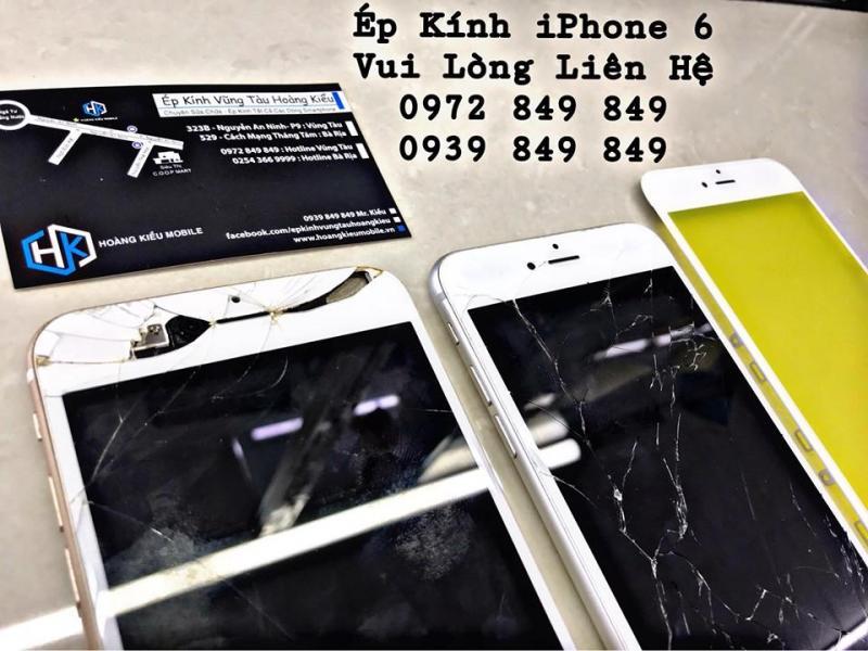 iPhone 6 Ép Kính Uy Tín Chất Lượng Số 1 Vũng Tàu