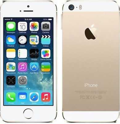 Iphone 5S KVT vàng 16g quốc tế, 97%
