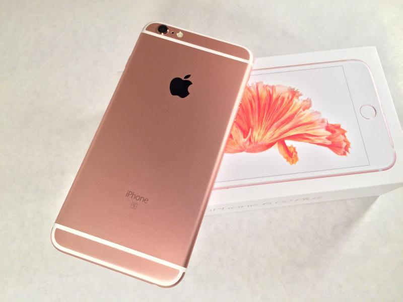 Iphone 6S plus 16 GB vàng hồng