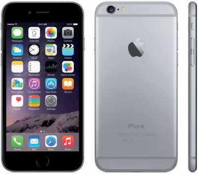 Iphone 6 16 GB xám đen máy zin ken, pin cầm, full