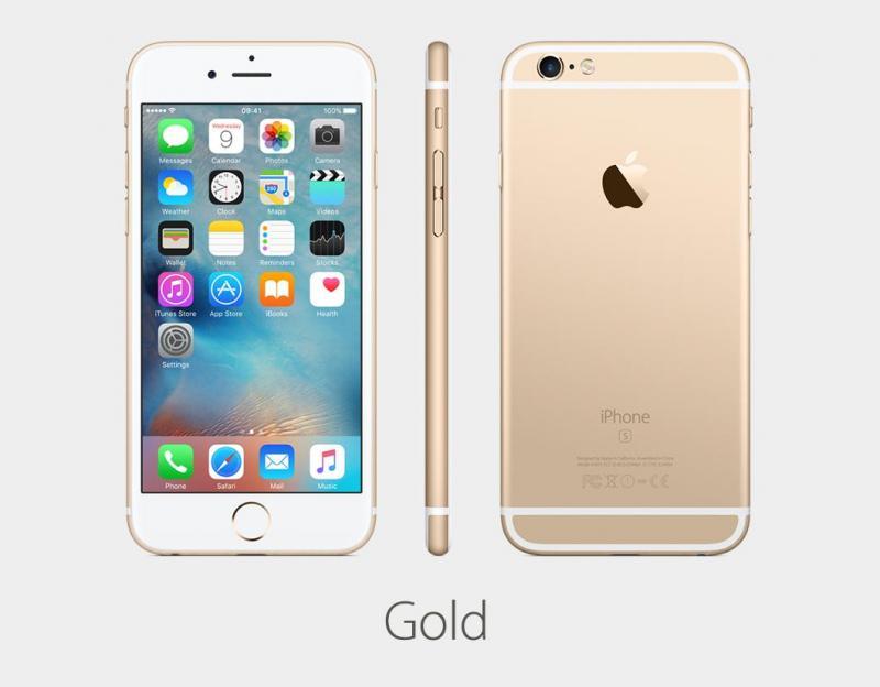 Apple Iphone 6S vàng hồng zin all