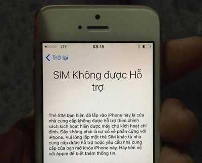 Apple iPhone 5 Đen 16 GB lock không có sim ghép
