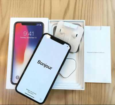 Iphone X trắng 256 mới active 1 tuần