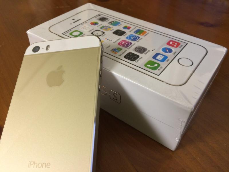 Iphone 5S vàng 16gb bao zin bán tại nhà
