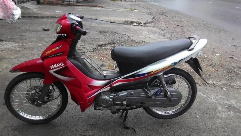 Yamaha Jupiter V màu đỏ trắng tại yên thành