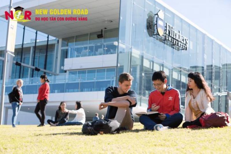 Du học Úc trường Đại học Flinders hàng đầu thế giới cùng Du học Tân Con Đường Vàng