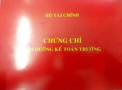 Đào tạo kế toán trưởng - chứng chỉ bộ tài chính Hà Nội