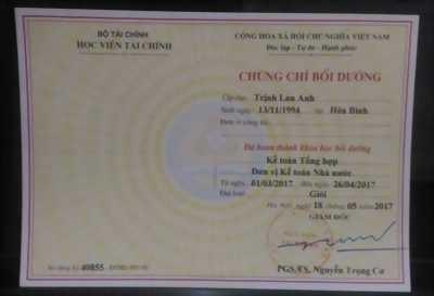 Khóa học kế toán hành chính sự nghiệp tại Hà Nội