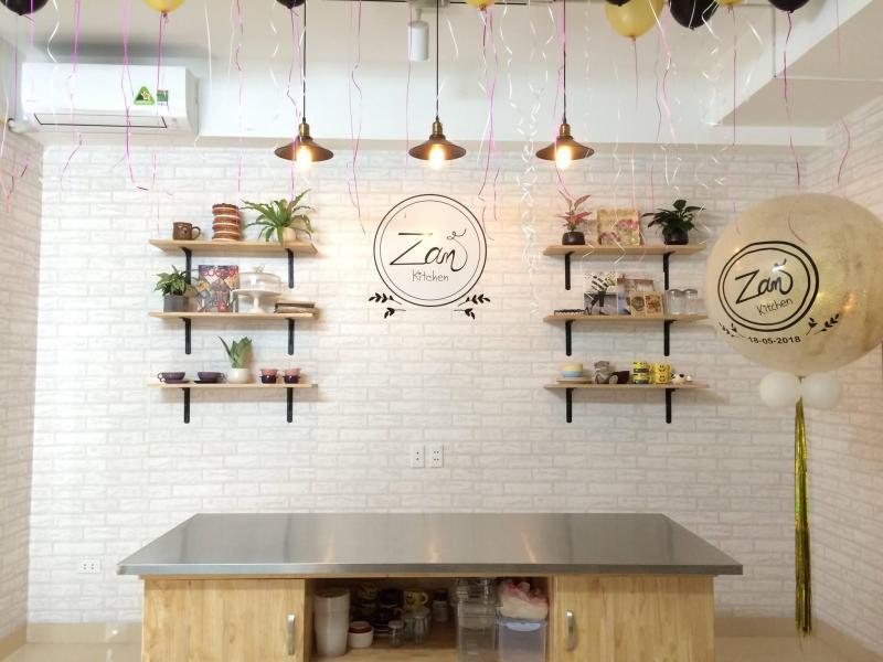 zan kitchen - tổ chức lớp học thử làm bánh miễn phí cho trẻ