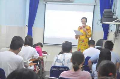 Khai giảng khóa học giao tiếp ứng xử