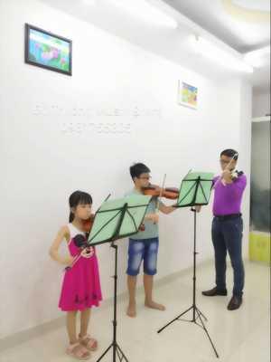 Đào tạo lớp Violin thường xuyên tại quận 6