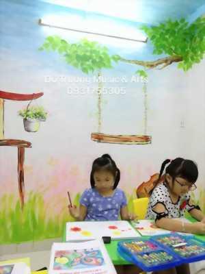 Khai giảng lớp Mỹ Thuật cho các bé từ 3 đến 7 tuổi tại Quận 6